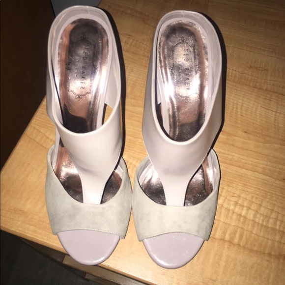 e7a197f2018 Ted Baker Shoes - Ted Baker rose gold heels